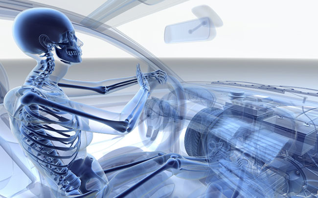 Ergonomic Car Seating Position